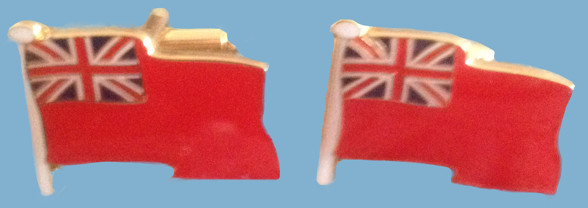 506a Red Ensign cufflinks